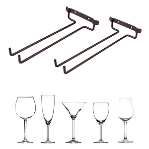 wine glasses rack wall mounted Suitable for All Shapes Wine Glasses