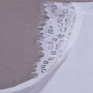 womensn lace trim tank tops