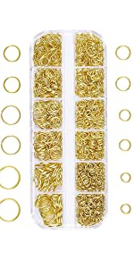 open jump rings lobster clasps kit for jewelry making earrings bracelets necklaces repair