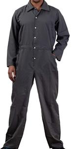 grey unisex jumpsuit jump flight suit flightsuit