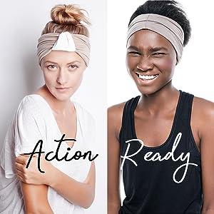 action ready blom headband