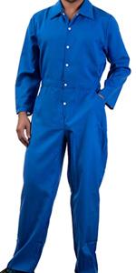 blue unisex jumpsuit jump suit costume flight suit