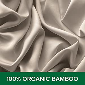 100% Organic Bamboo Viscose. never blended with other fibers or fabrics