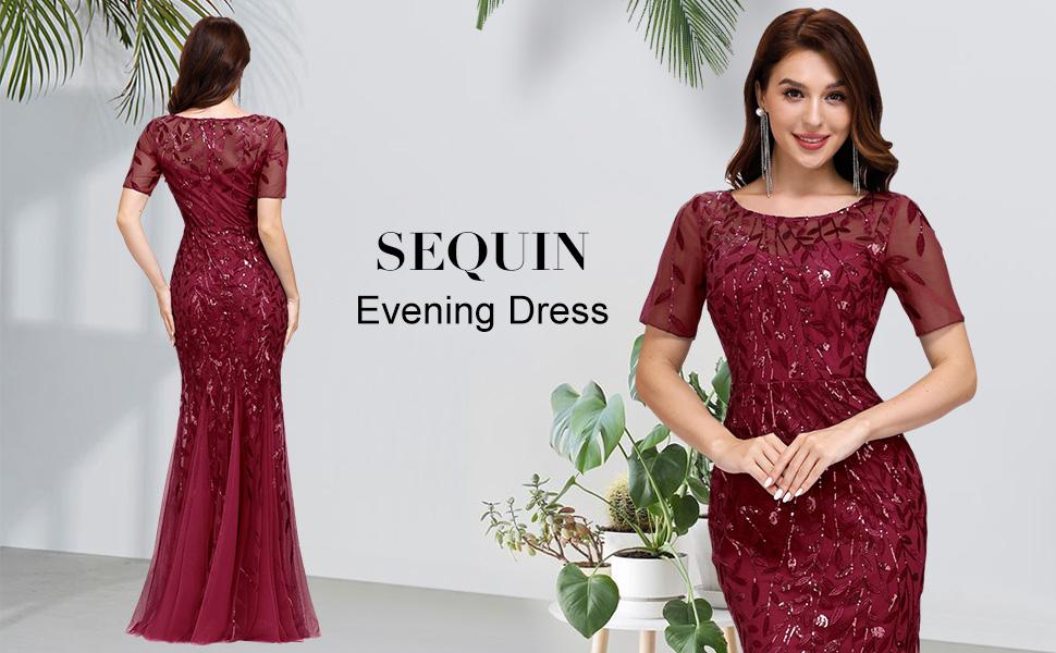 sequin bridesmaid dresses prom dresses mother of bride dresses for wedding formal dresses for women