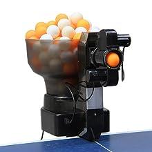 robot ping pong trainer machine