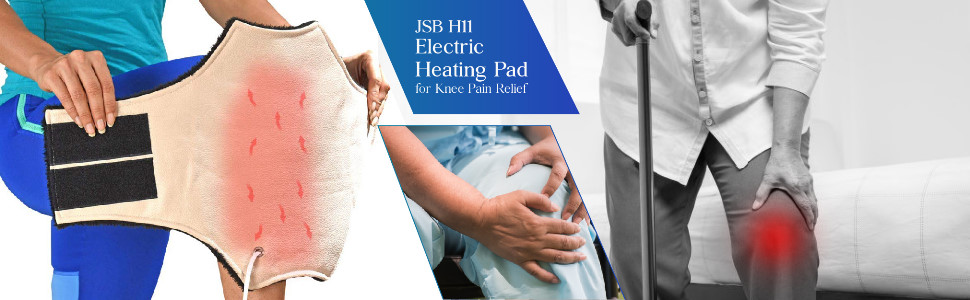 electric heating pad for knee pain relief