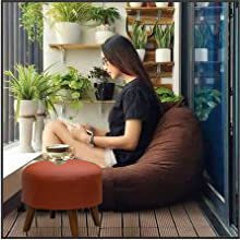 stool for balcony garden roof outdoors good quality design stool pouf ottoman chair bean bag puffy