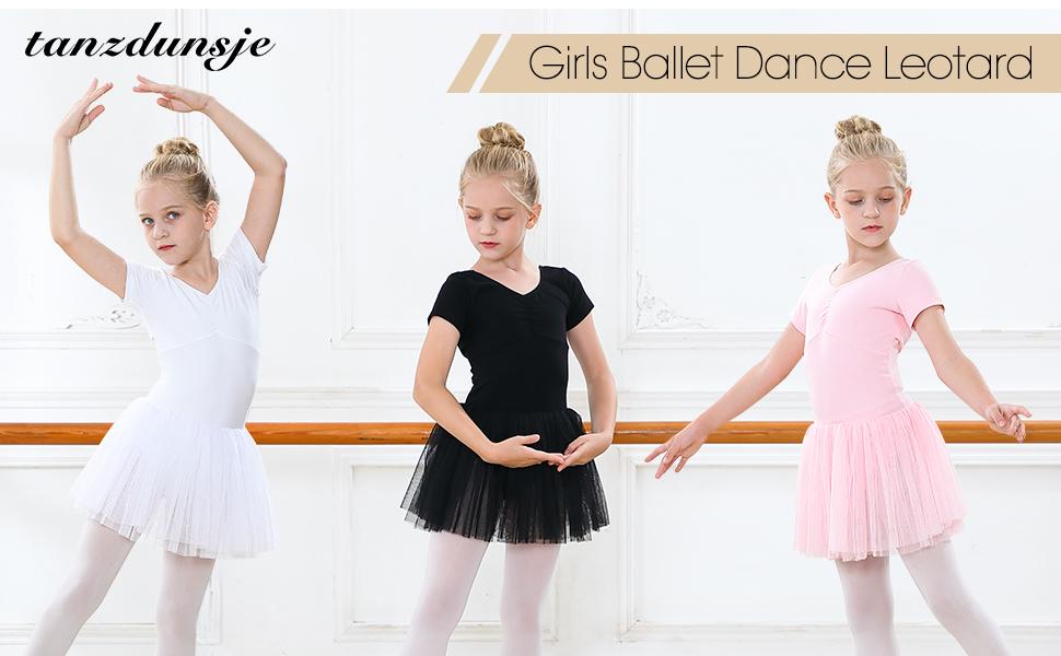 girls ballet dress with tutu