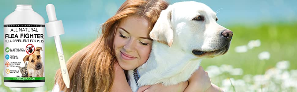 all natural flea treatment for dogs and cats