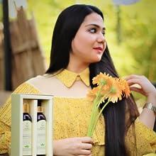 Hair Growth Oil Shampoo Combo Kit Regime Hair Sanjeevani Onion Argan Jojoba Casto Oil Organic
