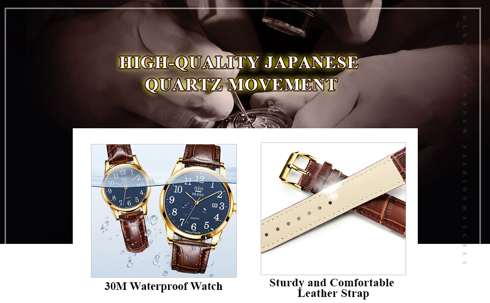 leather strap watches for womens