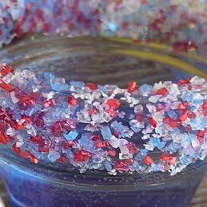 cocktail sugar, rimmer, colored sugar, natural sugar, kosher sugar