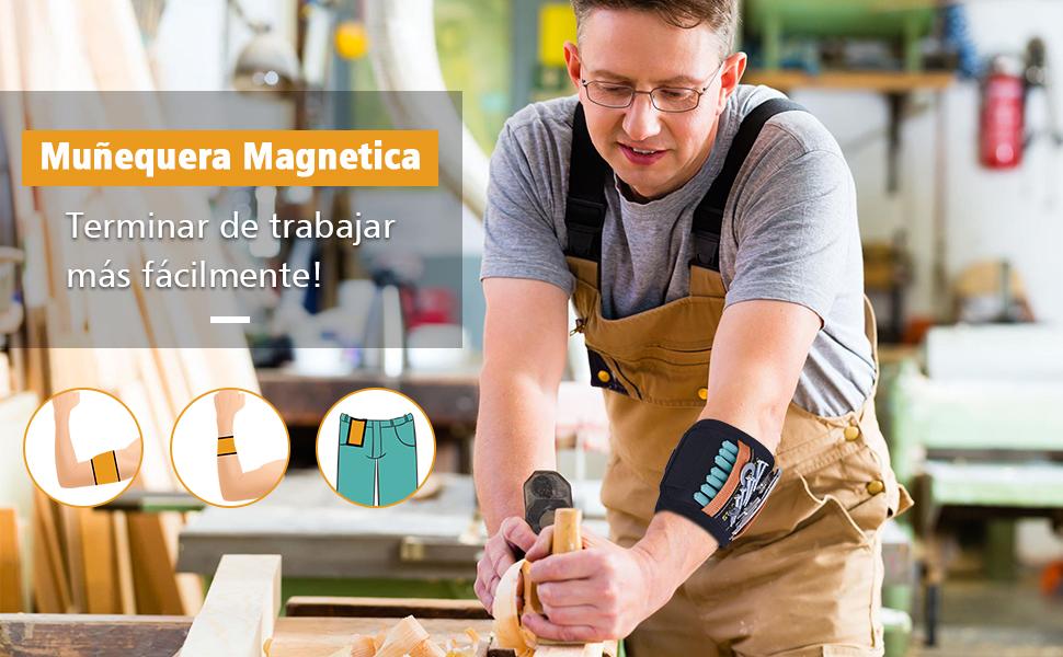Muñequera Magnetica