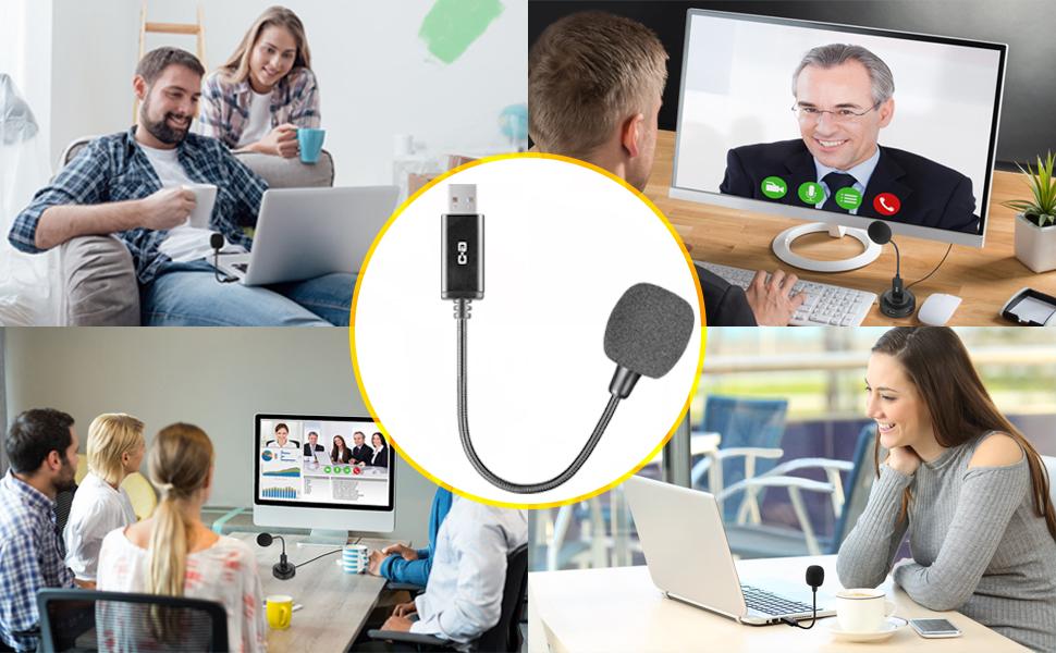 Mini Condenser Microphone with USB
