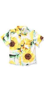 boys sunflower shirt