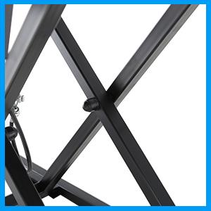 Sturdy Steel Frame