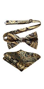 Pre tie bowtie set