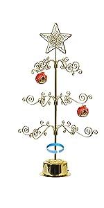Ornament Display Tree Stand Metal Christmas