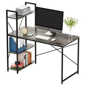 home office desk with stotage writing and study table