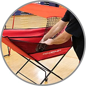 The PowerNet Volleyball cart
