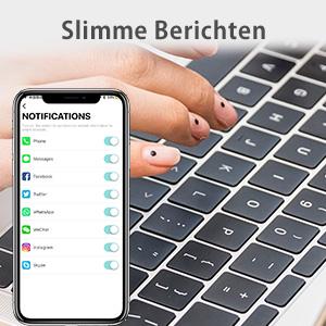 BlitzWolf IP68 Waterdichte Smartwatchs Fitness Tracker