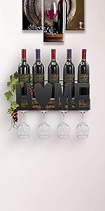 wine rack stemware holder