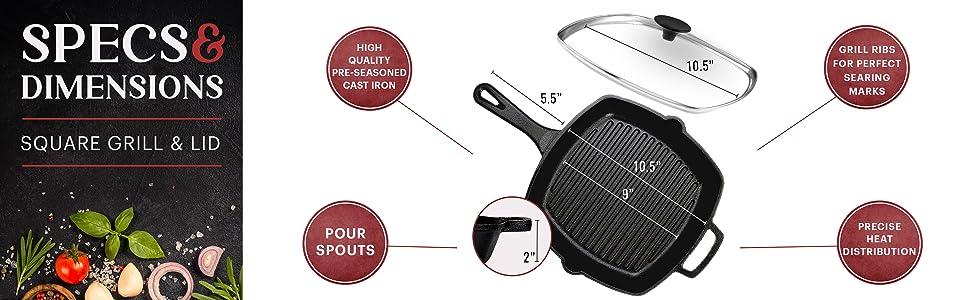 square grill