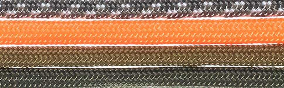 multiple colored shoelaces