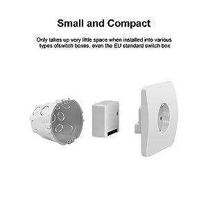 OWSOO SONOFF Interruptor Inteligente de Dos Vías Mini DIY Control ...