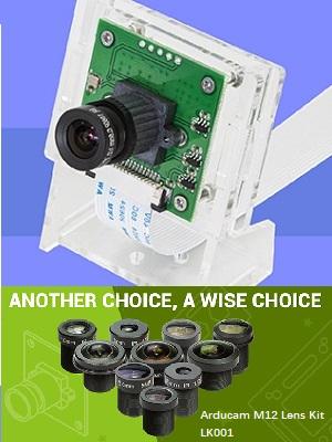 raspberry pi camera M12