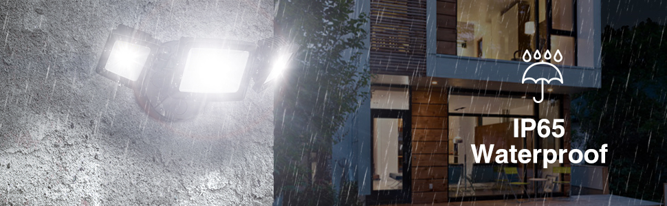 Waterproof security light