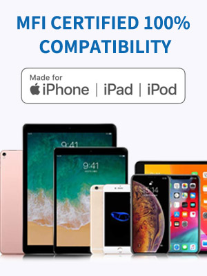 mfi certified 100% compatibility