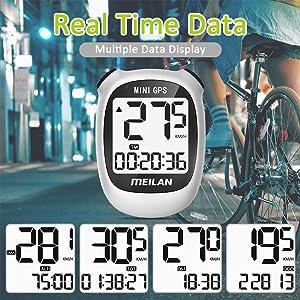 bicycle odometer speedometer wireless