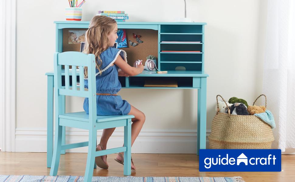 Guidecraft Children's Media Desk