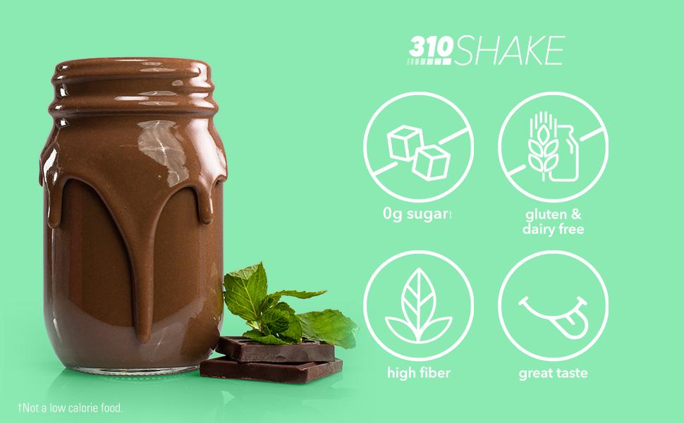 Chocolate Shake Pour