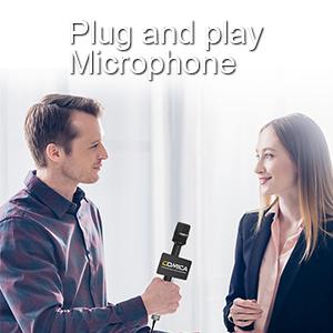report microphone