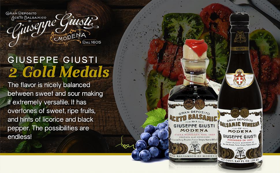 giuseppe giusti balsamic vinegar of modena italy 2 gold medals 210