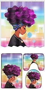 african shower curtain set bathroom accessories