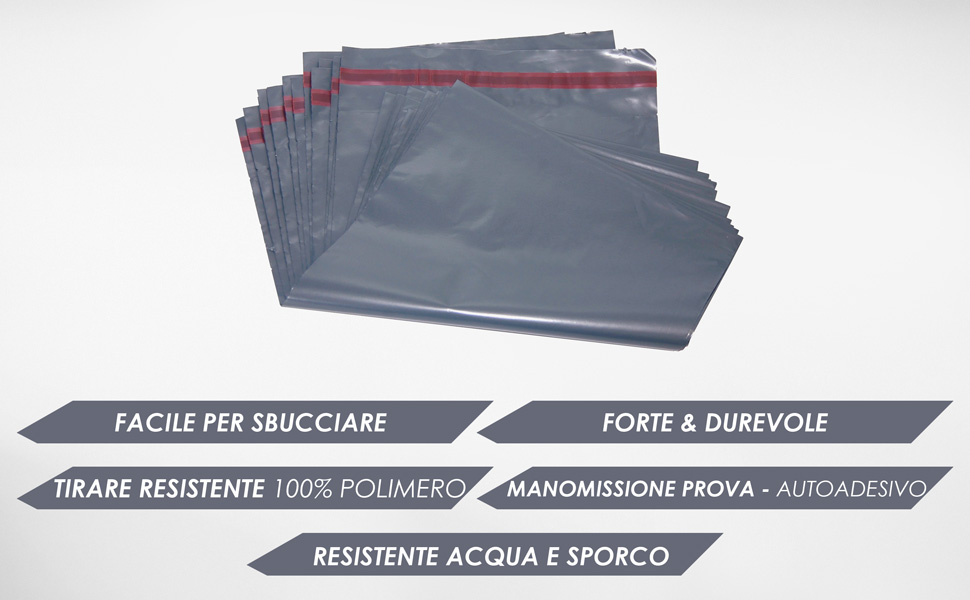 """50 Grigio 5/"""" x 7/"""" mailing borse affrancatura posta"""