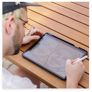 paperlike ipad screen protector write and drwa like on paper
