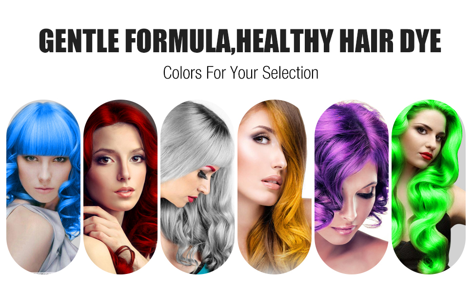120g Cera para el cabello, Crema Para Colorante Pelo Temporal Duradera, Lavable Tinte Temporal Capilares, Color del Cabello Crema Para Colorante Pelo ...