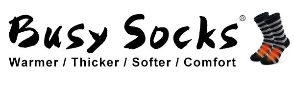 Busy Socks Brand logo