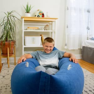 your child will love their new relaxation spot