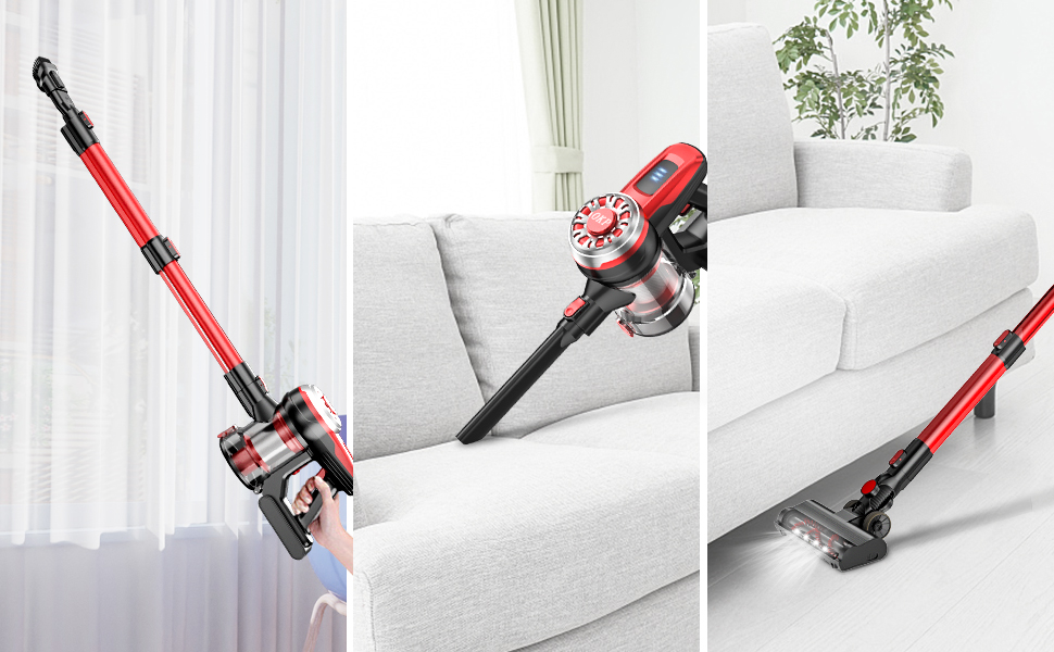 17 Kpa stick vacuum cleaner