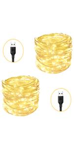 USB Powered Fairy Lights