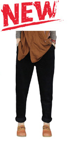 women's corduroy harem pants