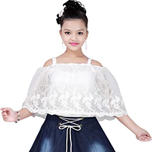 Denim chicken white baby frock jeans midi