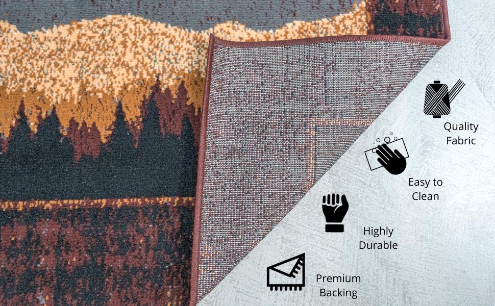 low pile rug