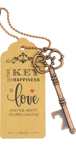 key opener party favor wedding place card stamp wedding place card stamp