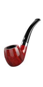 Smoking Pipe with Flat Bottom Set